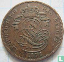 België 2 centimes 1873