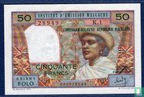 50 francs malgaches