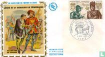 Lodewijk XI en Karel de Stoute