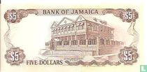 Jamaica 5 Dollars 1992