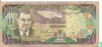Jamaica 100 Dollars 1991