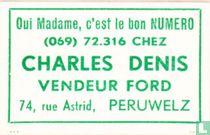 Charles Denis - vendeur Ford