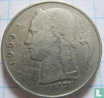 België 1 franc 1953