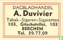 Dagbladhandel A. Duvivier
