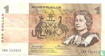 Australië 1 Dollar ND (1976)
