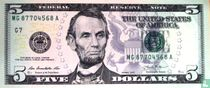 Verenigde Staten 5 dollars 2013 G