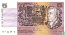 Australië 5 Dollars ND (1983)