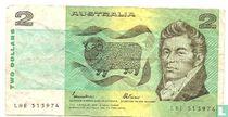 Australië 2 Dollars ND (1985)