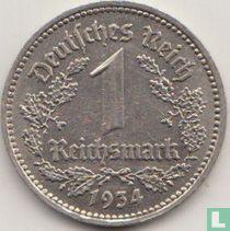 Duitse Rijk 1 reichsmark 1934 (E)
