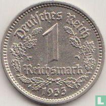Duitse Rijk 1 reichsmark 1933 (E)