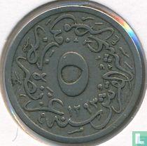 Ägypten 5/10 Piaster 1904 (Jahr 1293/30)