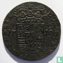 Spanish Netherlands 1 liard 1710 (Namur Type 3)