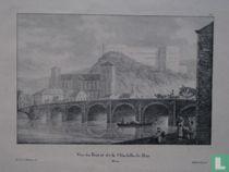 Vue du Pont et de la Citadelle de Huy