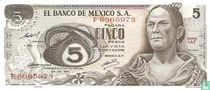 Mexico 5 Pesos <<>>