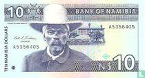 Namibia 10 Namibia Dollars ND (1993)