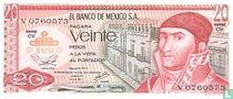 Mexico 20 Pesos <<>>>