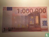 1000000 euro Funbiljet