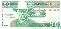 Namibia 50 Namibia Dollars ND (1993)