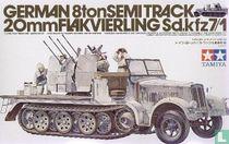 German 20mm Flakvierling SD.kfz7/1