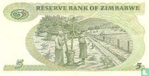 Zimbabwe 5 Dollars 1994