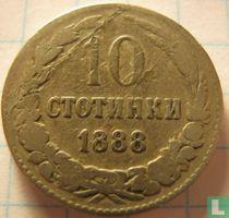 Bulgarije 10 stotinki 1888