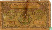 Algerije 20 Francs 1948