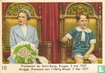Brugge. Processie van 't Heilig Bloed. 3 Mei 1937