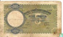 Albanië 5 Franga ND (1939)