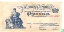 Argentinië 5 pesos