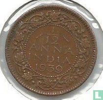 Brits-Indië 1/12 anna 1939 (2e hoofd - Bombay)