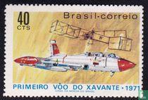 Xavante Jet en het vliegtuig van Santos Dumont
