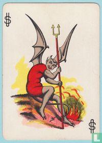 Joker USA, T11, Vanity Fair, Speelkaarten, Playing Cards 1895