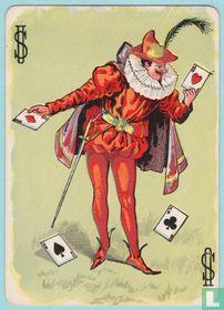 Joker USA, T10, Hustling Joe II, Speelkaarten, Playing Cards 1895