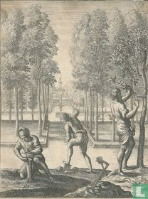 Allegorie op de bosbouw