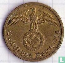 Duitse Rijk 10 reichspfennig 1938 (B)