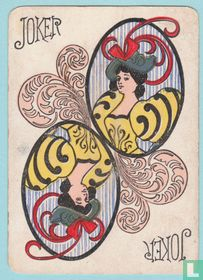 Joker USA, US20a, New Era, Speelkaarten, Playing Cards 1896