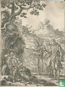 Het liefdesverdriet van Cornelius Gallus om zijn Lycoris