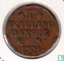 Dänemark 1 Skilling K.M. 1771