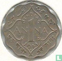 Brits Indië 1 anna 1941 (Bombay)