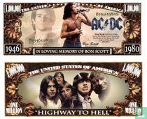 AC/DC in memory of BON SCOTT - biljet