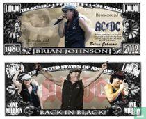 AC/DC BRIAN JOHNSON - biljet
