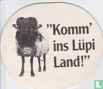 """Komm' ins Lüpi Land!"" / Lüneburger Pilsener"