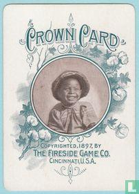 Joker USA, Crown Card, The Fireside Game Co., Cincinnati, Speelkaarten, Playing Cards 1897