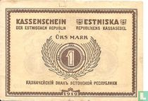 Estland 1 mark