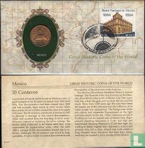 Mexico 20 centavos Numisbrief