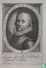 IACOB. VANDER. MEER. VAN. BERENDRECHT COLONEL, ANNO 1603, AETATIS, 46.