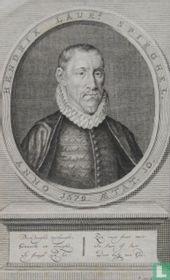 HENDRIK LAURz. SPIEGHEL. ANNO 1579. AETAT. 30.