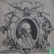 IACOBUS FOECK, ORDINUM BELG. CONFOED. CONSILLIARIUS, ET MONET. PRAEFECT. GENERALIS. C.M.