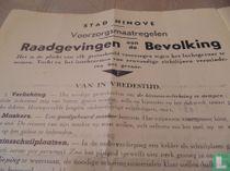 mobilisatie 1939 NINOVE (Belgie)