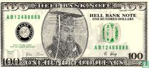 Hell banknote 100 dollar